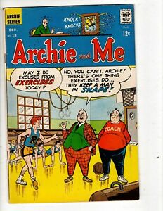 ARCHIE AND ME COMICS No 18 with REGGIE, JUGHEAD, BETTY and VERONICA