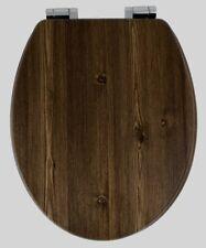 Wood Effect Soft Close Toilet Seat AWD02181065