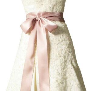 120 inch Satin Ribbon Wedding Belt/Bridal Sash/Evening Dress Belt Double Faced
