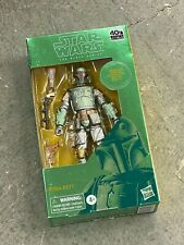 FEB208607: Hasbro Star Wars Black Series NEW * Carbonized Boba Fett * Figure