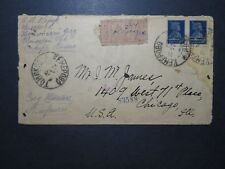France WWI Special Army D'Avignon Stampless Cover / Creasing - Z11896