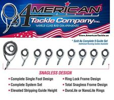 American Tackle MicroWave Casting Guides- Duralite- Chrome (DCMW-SET-C)
