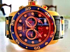 Invicta Men's 6983 Pro Diver Collection Chronograph Blue Dial Black Polyurethane
