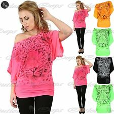 Unbranded Polyester Batwing Tops & Shirts for Women