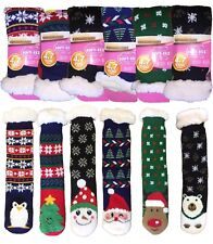 New Women's Soft-eez Dual Layer Technology Thermal Cosy Christmas 4.7 Tog Socks