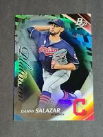 Danny Salazar Cleveland Indians 2017 Bowman Platinum Black 2/10