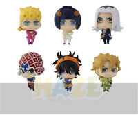 6pcs/set JoJo's Bizarre Adventure Q Ver. PVC Figure Model Toy In Box
