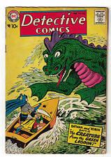 BATMAN DETECTIVE  DC COMICS 252 1958  VG 4.0
