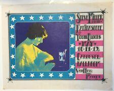 1968 Steve Miller At The Carousel Ball Room Poster