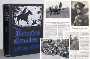 Die deutsche Kavallerie in Krieg und Frieden 1928 Prachtband Militär Pferde