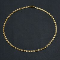 Exquisite Women Mens Gold Stainless Steel Unisex Snail Necklace Chain Jewelry