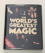 HYLA M CLARK The World's Greatest Magic 1st/1st HB/DJ Signed by 20+ Magicians