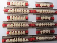 1Box Full Set Dental Synthetic Resin False/Fake Teeth Denture A2 color 84pc 447#