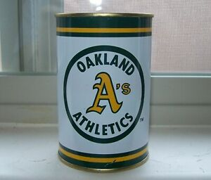 Three MLB Bank Can from 1984 - A's, Giants, Braves