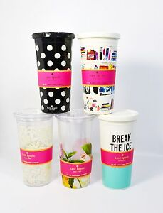 Kate Spade New York 20 oz Insulated Tumbler choose your designs NO STRAW
