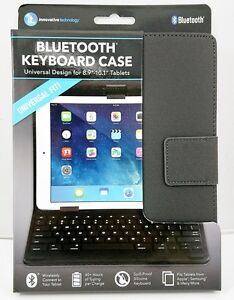 """Universal 8.9""""~10.1"""" Tablets Case Built-in Bluetooth Keyboard for Samsung/IPAD"""