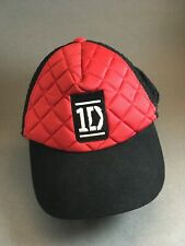 ONE Direction band hat puffy hat red