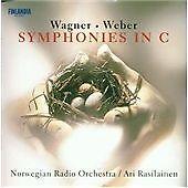 Ari Rasilainen Norwegian Radio Orch Wagner, Weber: Symphonies in C (2000) CD