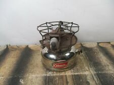 COLEMAN STOVE MODEL SPEADMASTER 500 CHROME  DATED 8 - 63 NO RESERVE