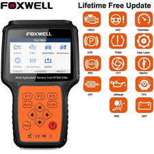 Foxwell NT650Elite ABS Airbag SAS DPF Injector Coding EPB Oil Reset OBD2 Scanner