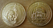 Medal Basilica Sacre Coeur Montmartre John Paul 2 Pope France 2014 Gold Color
