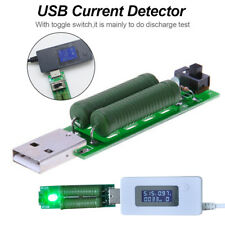 USB Resistor Load Tester 1A/2A Discharge Voltage Current Capacity Test