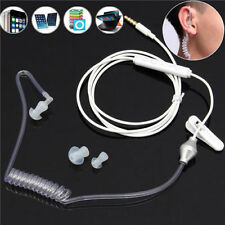 HOT Mono Bodyguard Headset Security Headphone Anti-radiation Earphone with Mic