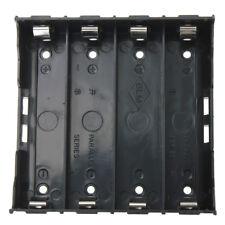 10x Battery Holder Boxse Black for 4x 13.7V 18650 Battery DP J2K0
