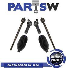 6 Pc New Suspension Kit for Honda Odyssey 1999-2001 Inner & Outer Tie Rod End