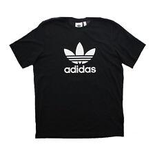 adidas Originals Trefoil Men's Black T-shirt Size L
