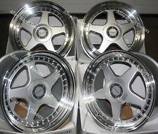 "Alloy Wheels 17"" DR-F5 For Bmw E30 Fiat Punto Evo Grande Punto 4x100 SP"