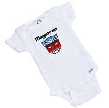 Megatron Funny baby Onesie. Great Shower Gift. Funny Shower Gift Romper