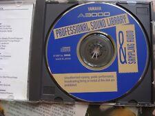 Yamaha PRO SAMPLE CD ROM Factory sound Sampling Llibrary   EX5 R  A3000 A5000