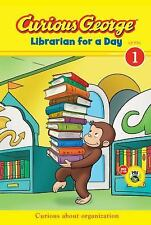Curious George Librarian for a Day (CGTV Early Reader) (Green Light Re-ExLibrary