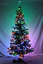 Beautiful FIBER OPTIC Christmas Tree BRAND NEW 5' and 6' multicolor options