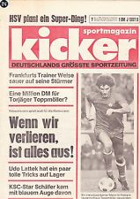 Magazin Kicker 7/1976,Bundesliga,