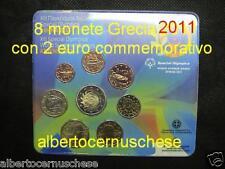 2011 8 monete 3,88 EURO fdc Grecia greece BU Grèce Griechenland Греция