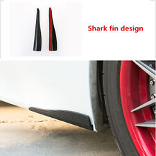 2 pcs Car Bumper Protector White Front Anti-rub Corner Guard Scratch Sticker
