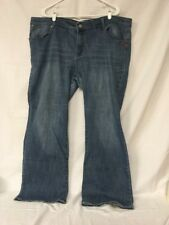 Ecko Red Denim Jeans Size: 24 Women's Embroidered Screen Print #287
