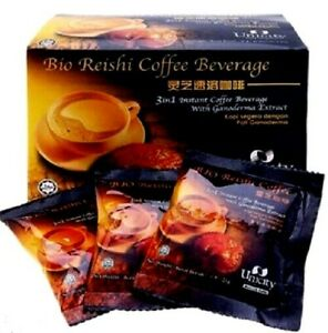 20Sachetx UNICITY Bio Reishi Coffee Beverage 3in1 Instant With Ganoderma Extract