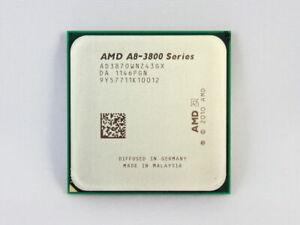 AMD Free A8-Series A8-3870K CPU  FM1 (AD3870WNZ43GX) 3 GHz 100 W Socket Processo