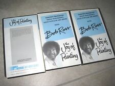 VTG Vintage PBS Bob Ross The Joy Of Painting Art Series 2 Three 1992 VHS USED