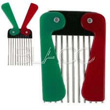 DENMAN PETTINE AFRO BARBER METAL PICK DISTRICANTE PER CAPELLI RICCI
