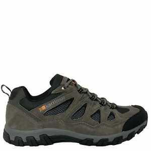 Karrimor Mens Peak Walking Shoes Waterproof Lace Up Mesh Panels Outdoor