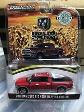 1:64 Greenlight 2018 Ram 2500 Big Horn Harvest Edition * Hobby Exclusive #29953
