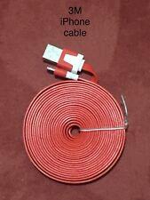 3m Apple iPhone X 8 6 5 7 Plus + iPad Mini Lightning USB Data Charger Lead Cable