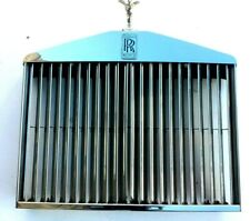 65 - 80 ROLLS ROYCE CORNICHE SHADOW FRONT STAINLESS GRILL,VANES AND LADY UB31244