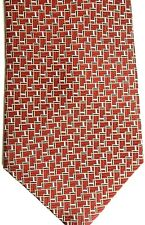 "Countess Mara Men's Silk Tie 57.5"" X 4"" Multi-Color Geometric"