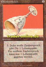 Elfenbeinkelch (Ivory Cup) Magic Limited Black bordered German beta fbb foreign