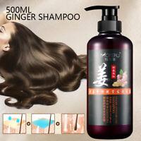 500ml Natural Ginger Shampoo Oil-Control Anti Hair Loss Anti Dandruff Hair Care